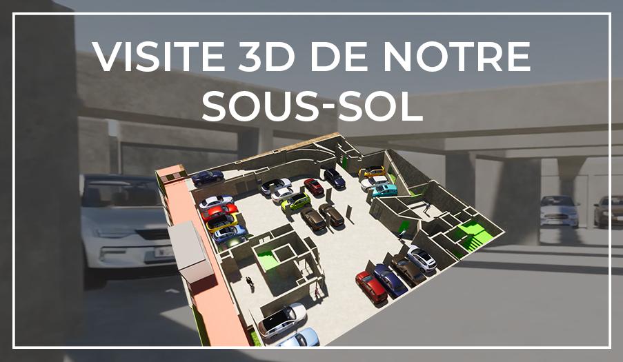 Visite 3D du Sous-sol